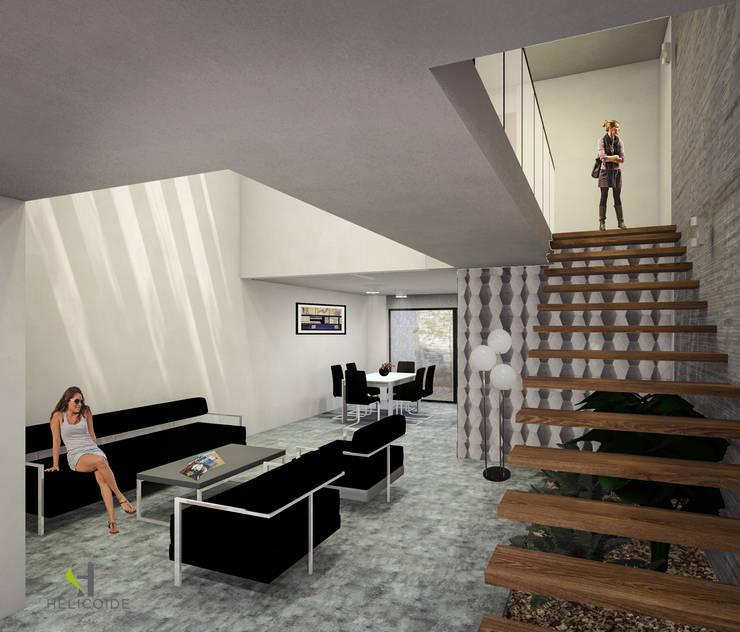 by Helicoide Estudio de Arquitectura Modern Wood Wood effect