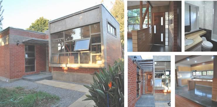 Casa Villa Alemana: Casas unifamiliares de estilo  por PG + Arq