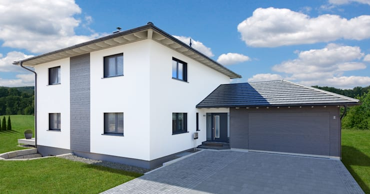 บ้านและที่อยู่อาศัย โดย Bau-Fritz GmbH & Co. KG, โมเดิร์น