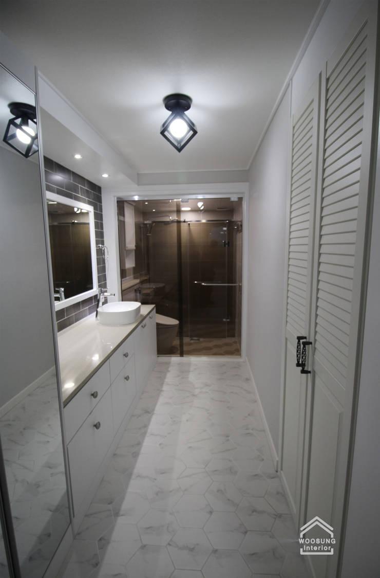 수지구 상현동 51PY 아파트: 수지 대림바스의  욕실,