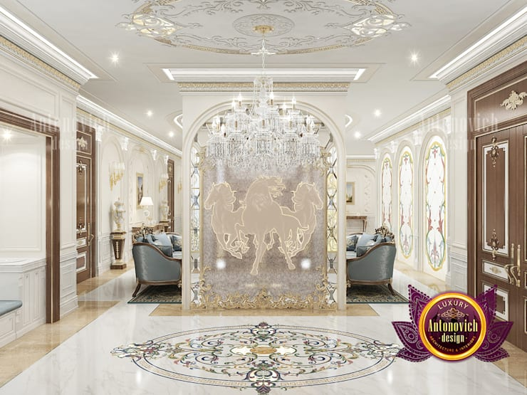 """Outstanding Hall Interior Solutions: {:asian=>""""asian"""", :classic=>""""classic"""", :colonial=>""""colonial"""", :country=>""""country"""", :eclectic=>""""eclectic"""", :industrial=>""""industrial"""", :mediterranean=>""""mediterranean"""", :minimalist=>""""minimalist"""", :modern=>""""modern"""", :rustic=>""""rustic"""", :scandinavian=>""""scandinavian"""", :tropical=>""""tropical""""}  by Luxury Antonovich Design,"""