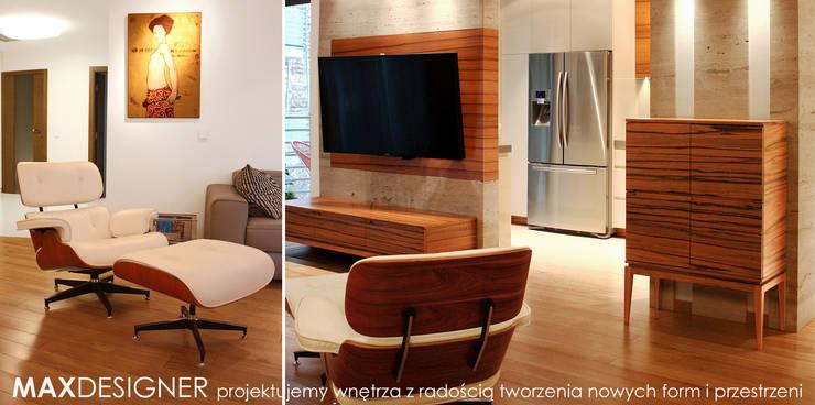 Salon.: styl , w kategorii Salon zaprojektowany przez MAXDESIGNER