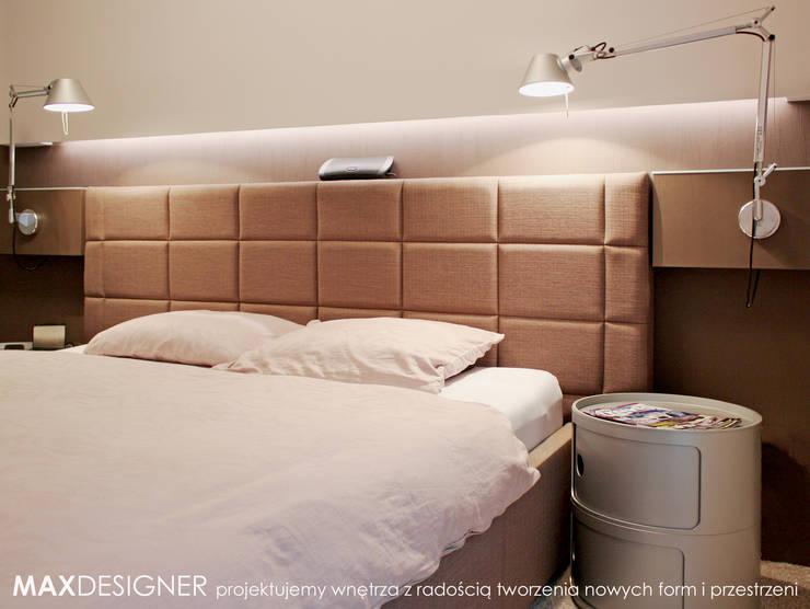 Sypialnia - detal.: styl , w kategorii Sypialnia zaprojektowany przez MAXDESIGNER