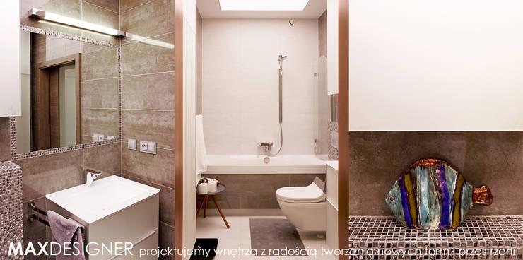 Łazienka: styl , w kategorii Łazienka zaprojektowany przez MAXDESIGNER