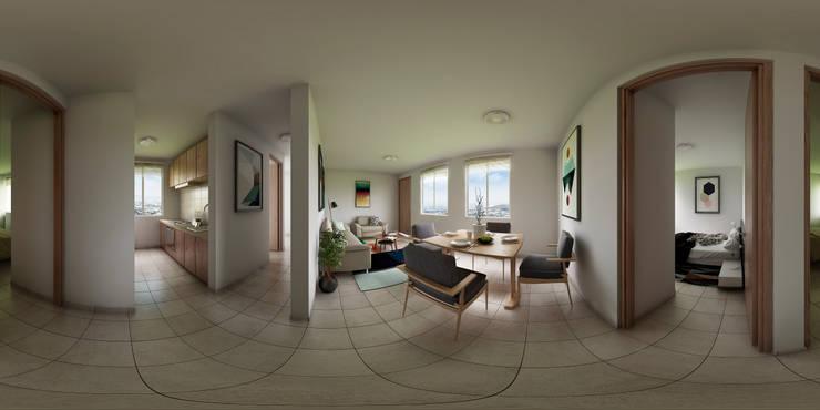 Departamento Interior Habitaciones modernas de Dic Arquitectos Moderno