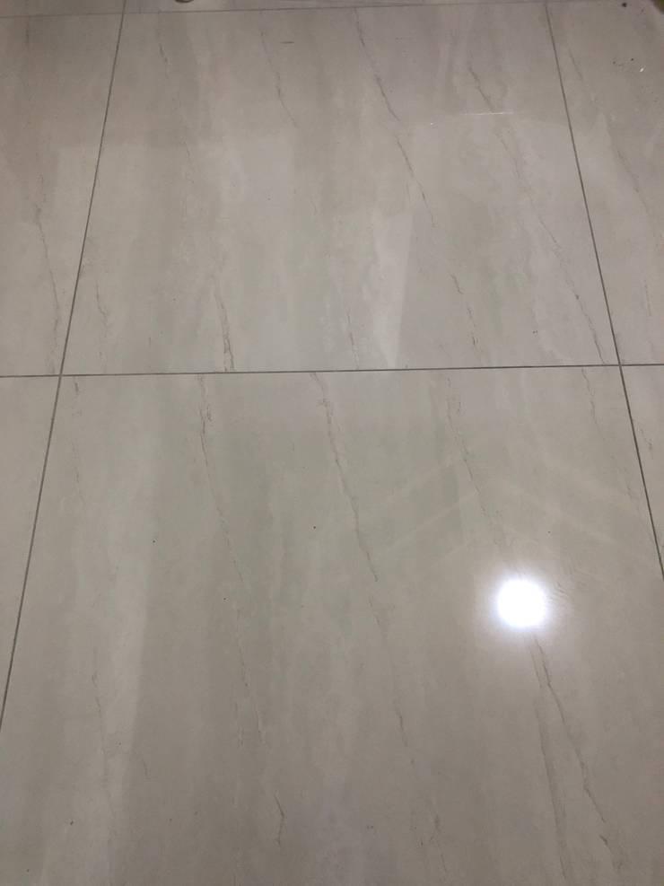 雙葉莊地磚:  地板 by 讚基營造有限公司