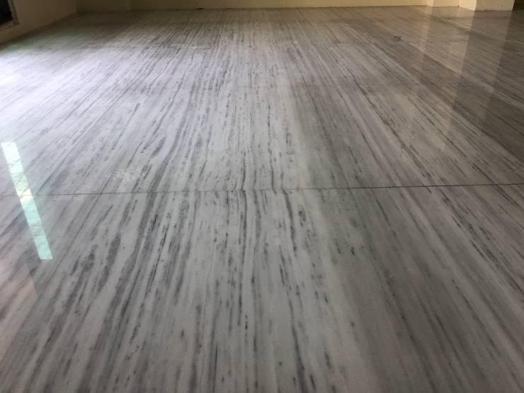 雙葉莊客廳石材:  客廳 by 讚基營造有限公司