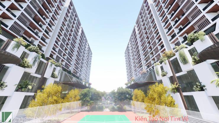 2 TÒA CHUNG CƯ CAO CẤP 15 TẦNG:   by công ty cổ phần Thiết kế Kiến trúc Việt Xanh