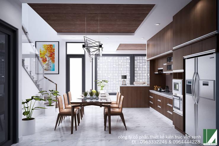NHÀ BIÊT THỰ 1 TẦNG :   by công ty cổ phần Thiết kế Kiến trúc Việt Xanh