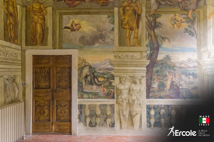 Inside doors by Ercole Srl, Rustic Wood Wood effect