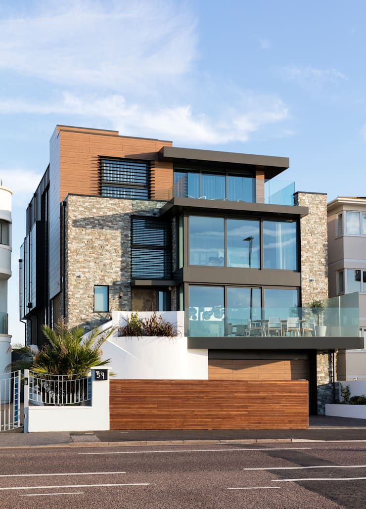Houses by WN Interiors, Modern