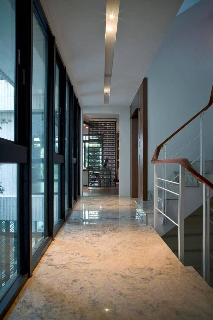 室內設計北歐風:  樓梯 by 大桓設計顧問有限公司,