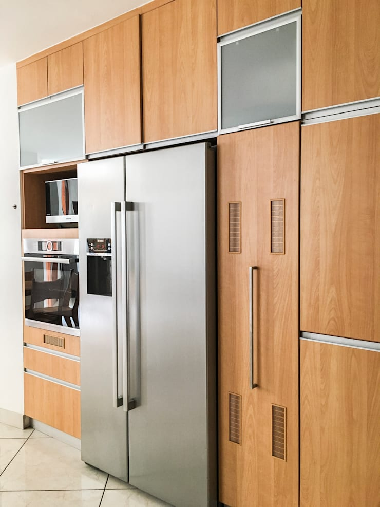 Cocina G: Cocinas equipadas de estilo  por DOGMA Architecture,