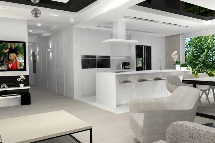 Built-in kitchens by Studio Vermilion Anna Cisło, Modern