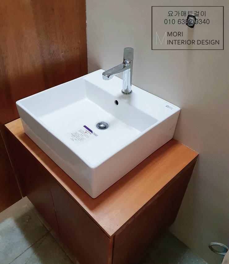 화장실하부장: 디자인모리의  욕실,