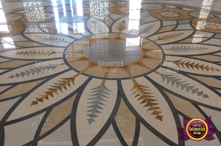 Regal Grand Marble Design For Flooring:   by Luxury Antonovich Design,