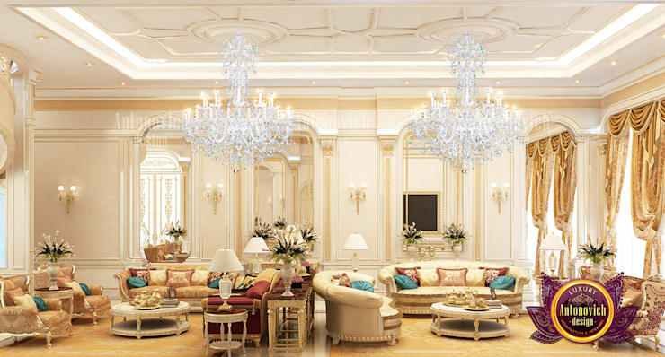 Lovely Hall Exclusive Design:   by Luxury Antonovich Design