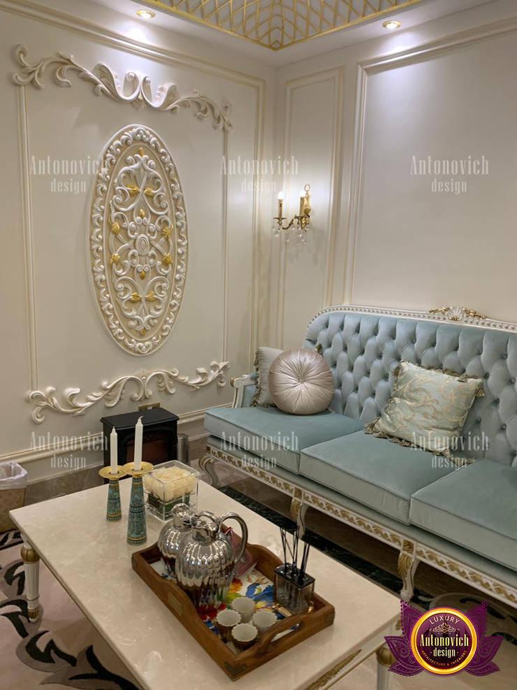 Unique Implemented Interior in Dubai:   by Luxury Antonovich Design,