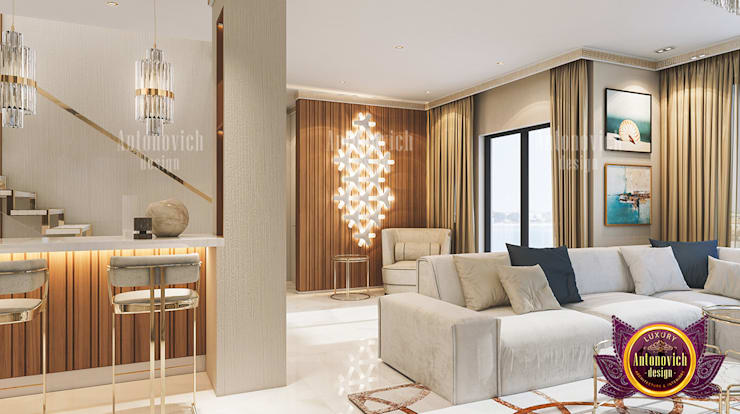 Helpful Different Interior Design Solutions:   by Luxury Antonovich Design,