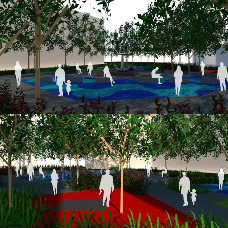Public Park Design:  oleh Reza Fauzi,