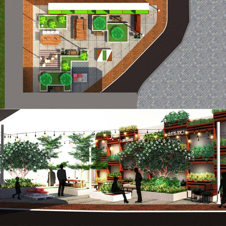 Backyard Design:  oleh Reza Fauzi,
