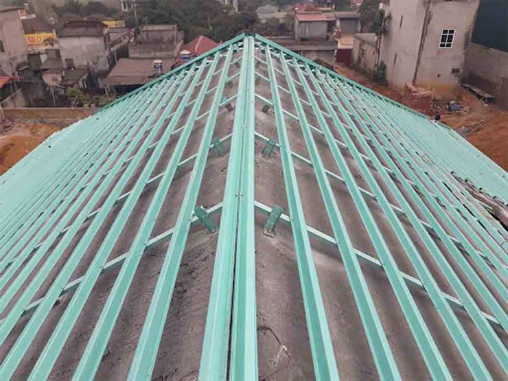 Hệ kèo bê tông dán ngói:   by BlueScopeZacs Việt Nam