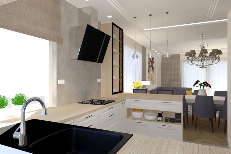 Kitchen units by Studio Vermilion Anna Cisło, Classic