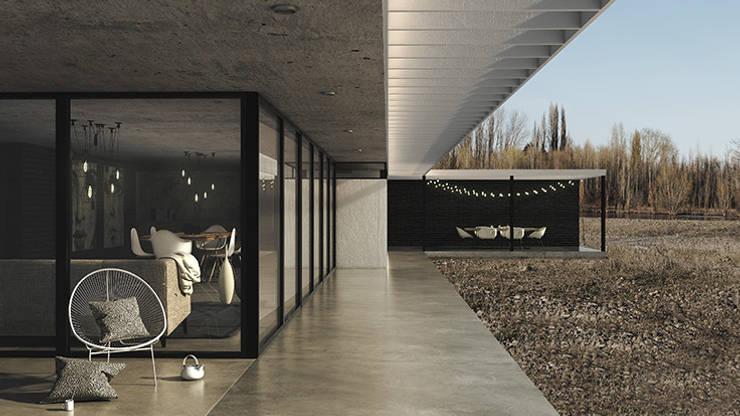 by MOD | Arquitectura Modern Concrete