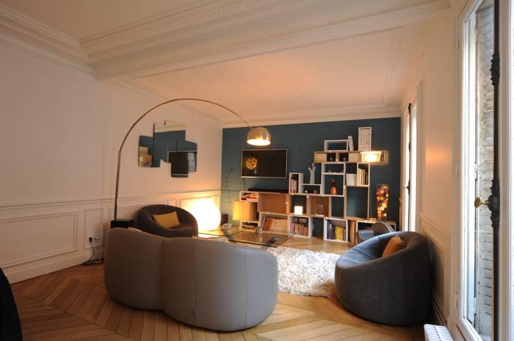 Salon: Salon de style  par Créateurs d'interieur