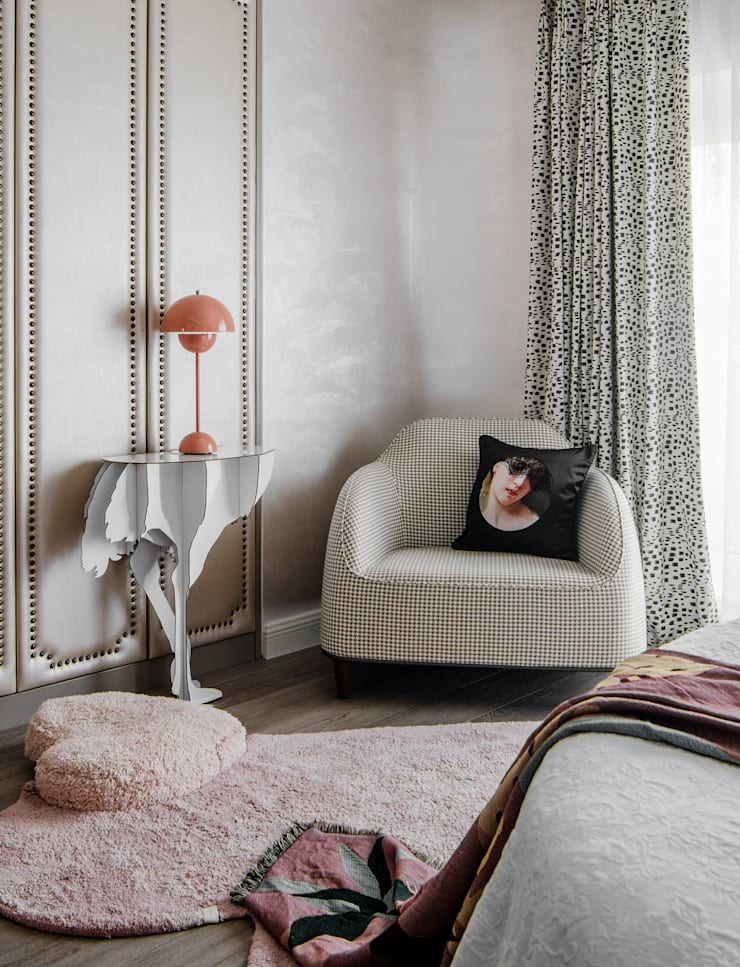 The daughter's Room:  Small bedroom by C&M Media, Eclectic