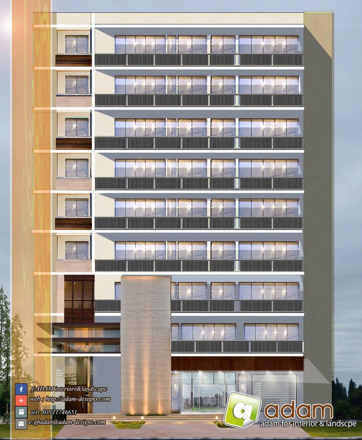 building:   تنفيذ ADAMfor interior&landscpe