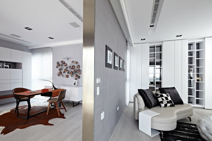 Ruang Kerja oleh 瑞嗎空間設計, Modern