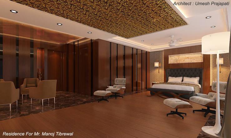 Bedroom by umesh prajapati designs, Modern Marble
