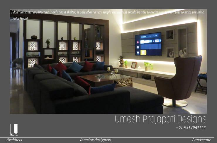 Media room by umesh prajapati designs, Modern