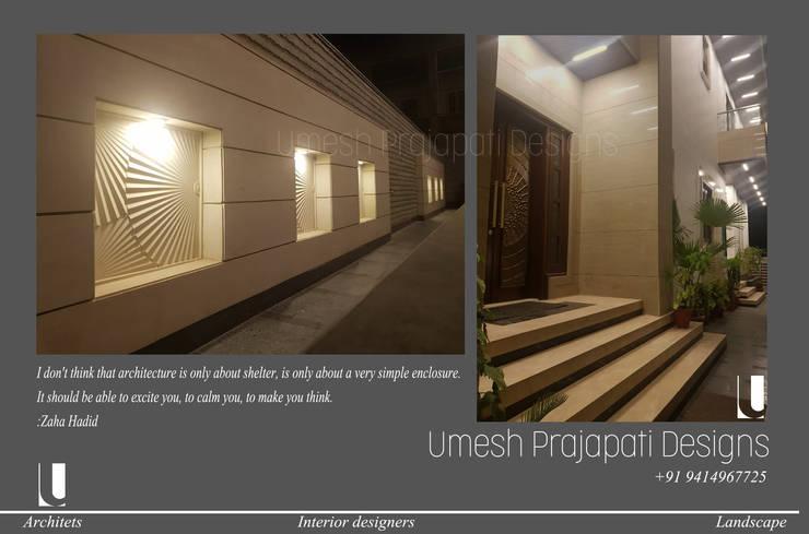 Patios & Decks by umesh prajapati designs, Modern