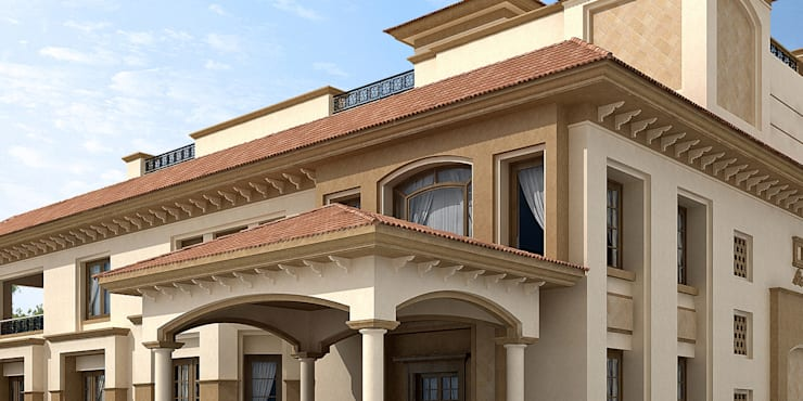 Houses by umesh prajapati designs, Classic