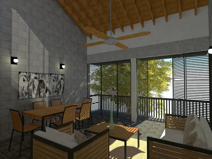 by Rojas Arquitectos Modern Concrete