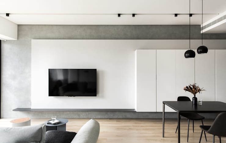 Living room by 初向設計, Modern