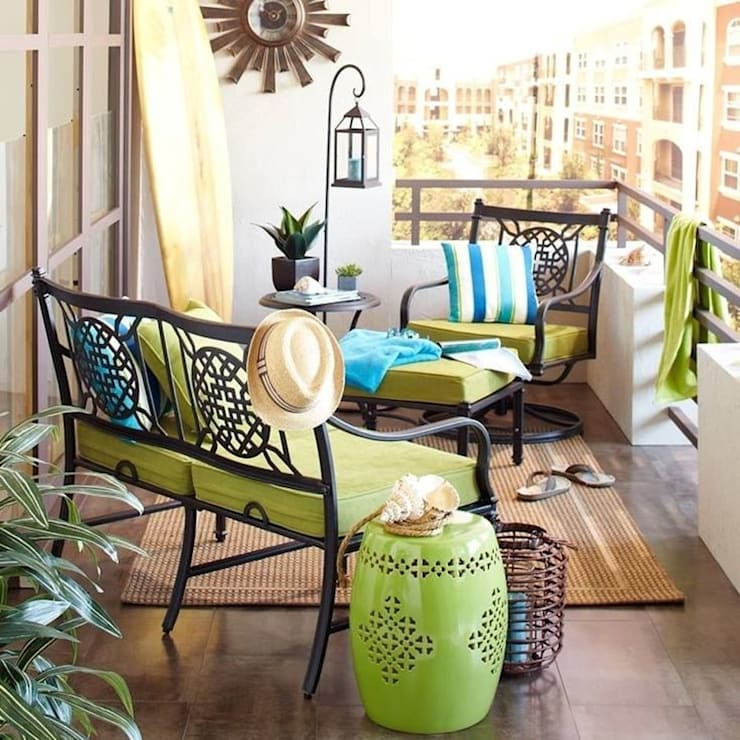 mau thiet ke ban cong:  Balconies, verandas & terraces  by DolanhaGroup