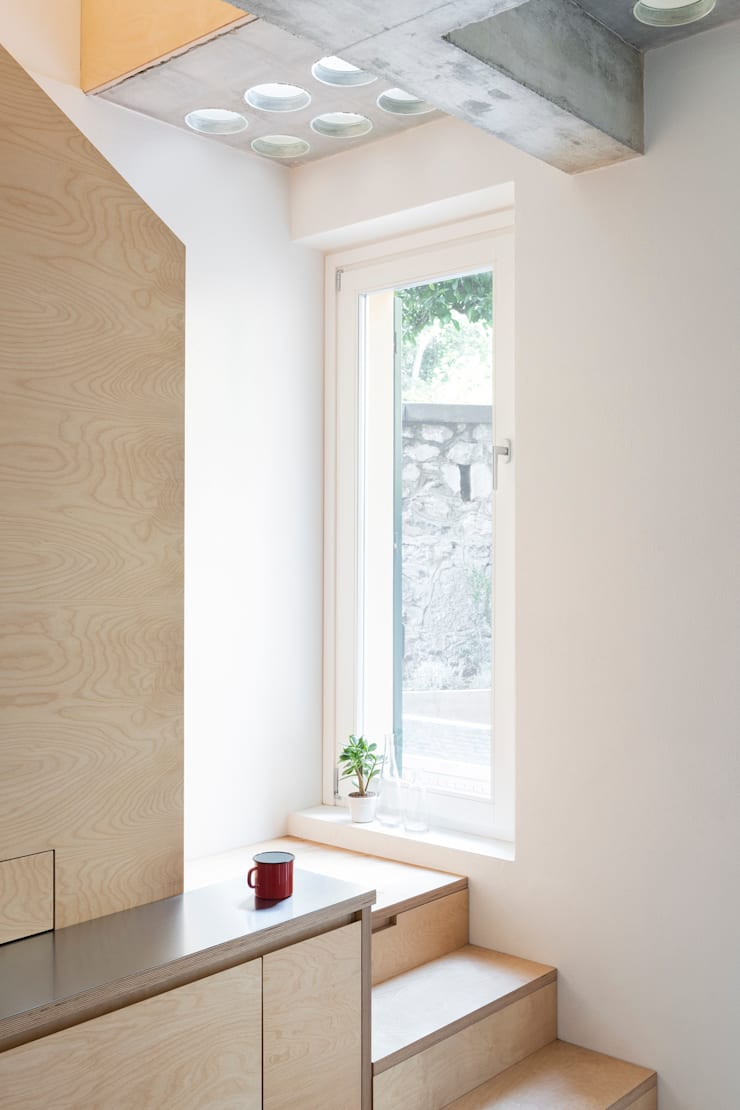 Tangga oleh Cristina Meschi Architetto, Minimalis