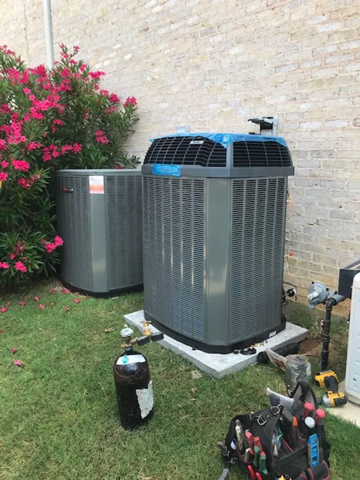 HVAC Installation - Highland Village, TX: modern  by Central Mechanical HVAC Services, Modern