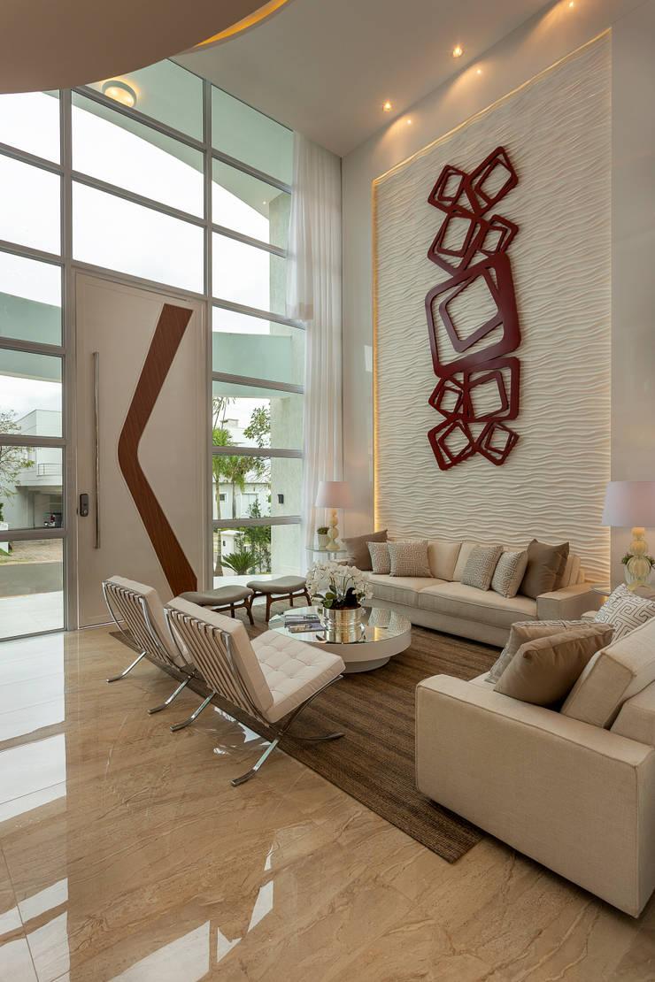 Ruang Keluarga oleh Arquiteto Aquiles Nícolas Kílaris, Modern