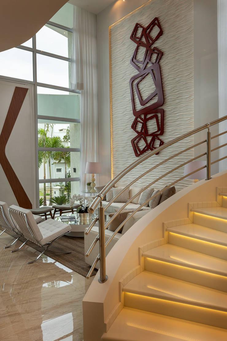 Tangga oleh Arquiteto Aquiles Nícolas Kílaris, Modern