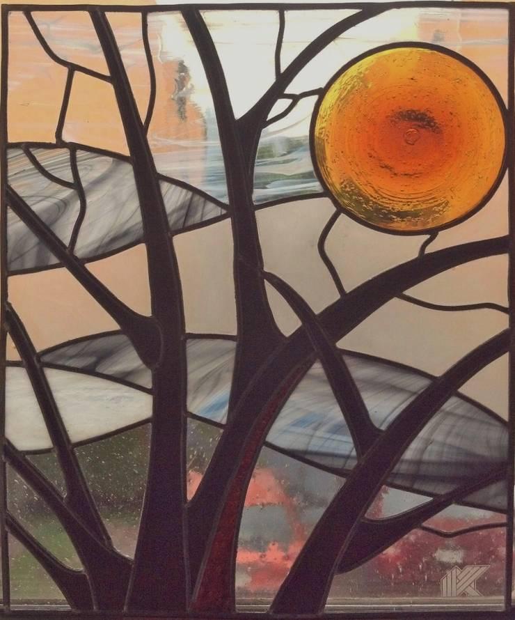 Ramas de arbol: Estudios y oficinas de estilo  por MKVidrio, Clásico Vidrio
