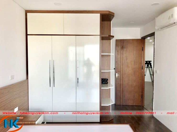 Thiết kế nội thất căn hộ chung cư Vinaconex 2 Kim Giang:   by Nội thất Nguyễn Kim