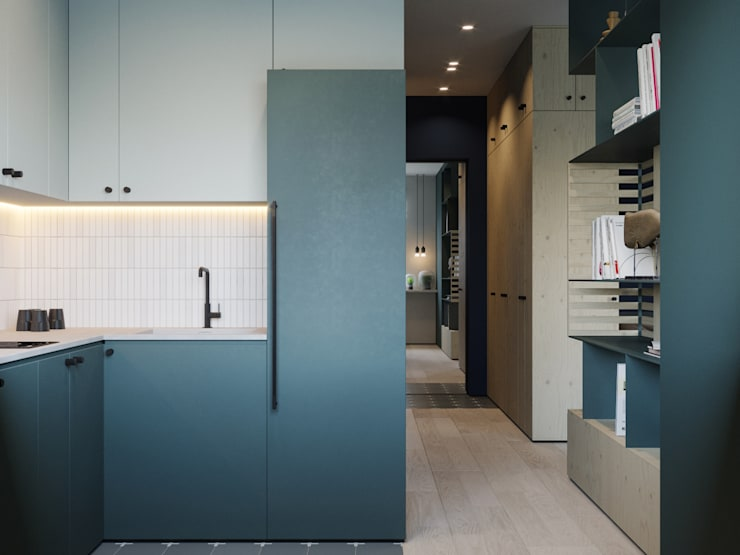 Small kitchens by Suiten7,