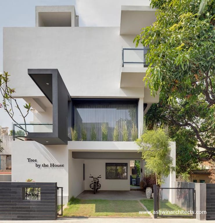 Houses by Ashwin Architects In Bangalore, Modern