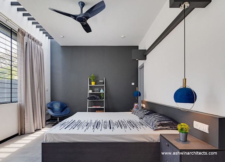 Bedroom by Ashwin Architects In Bangalore, Modern