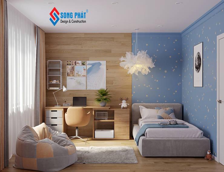 Hoàn thiện nội thất :  Cửa chớp by Công Ty Cổ Phần Kiến Trúc Xây Dựng Song Phát