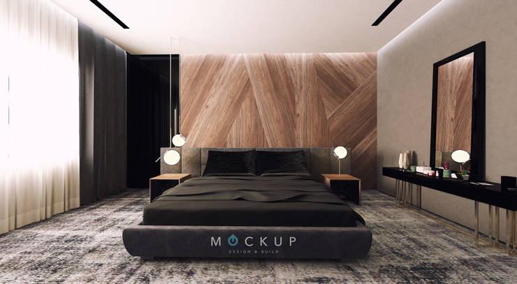 سبرينجز – مدينة الشروق:  غرفة نوم تنفيذ  Mockup studio, حداثي